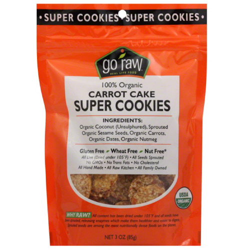 Cookie Super Carrot Cake, 3 Oz  (pack Of