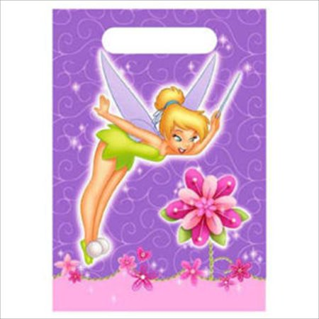 Tinker Bell 'Tink' Favor Bags (8ct) - Tinkerbell Favors