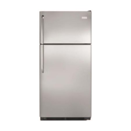 Ffhi1831qs 30 Energy Star Rated Top Freezer Refrigerator With 18 0 Cu  Ft  Capacity  Spillsafe Glass Shelves  Humidity Controlled Crisper Drawers And Factory Installed Icemaker In Stainless Steel
