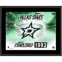 "Dallas Stars Fanatics Authentic 10.5"" x 13"" Sublimated Horizontal Team Logo Plaque - No Size"