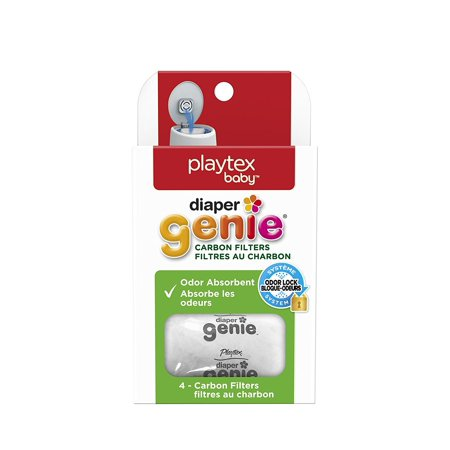 Genie Playtex Carbon Filter Refill Tray for Diaper Pail