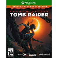 Shadow of the Tomb Raider Limited Steelbook Edition, Square Enix, Xbox One, 662248920931