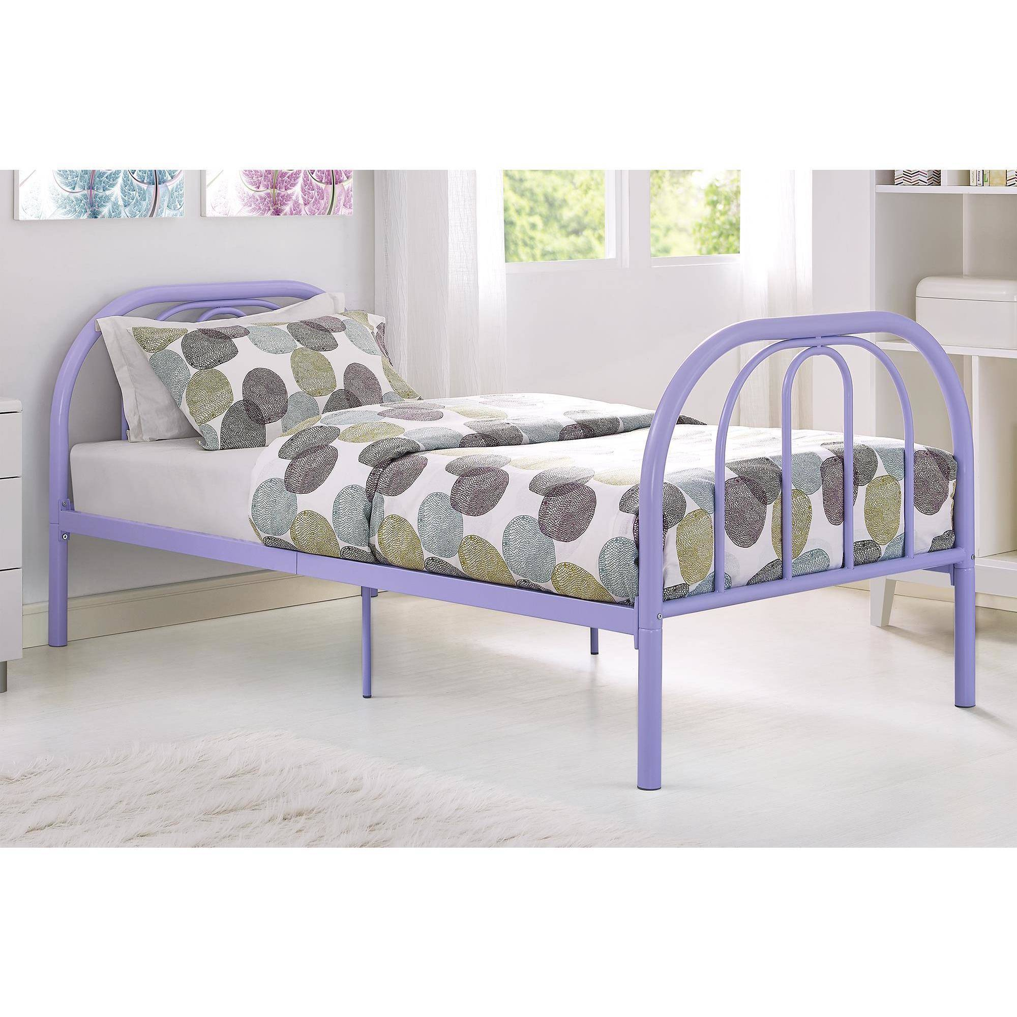 twin size bed frame metal frame childrens twin