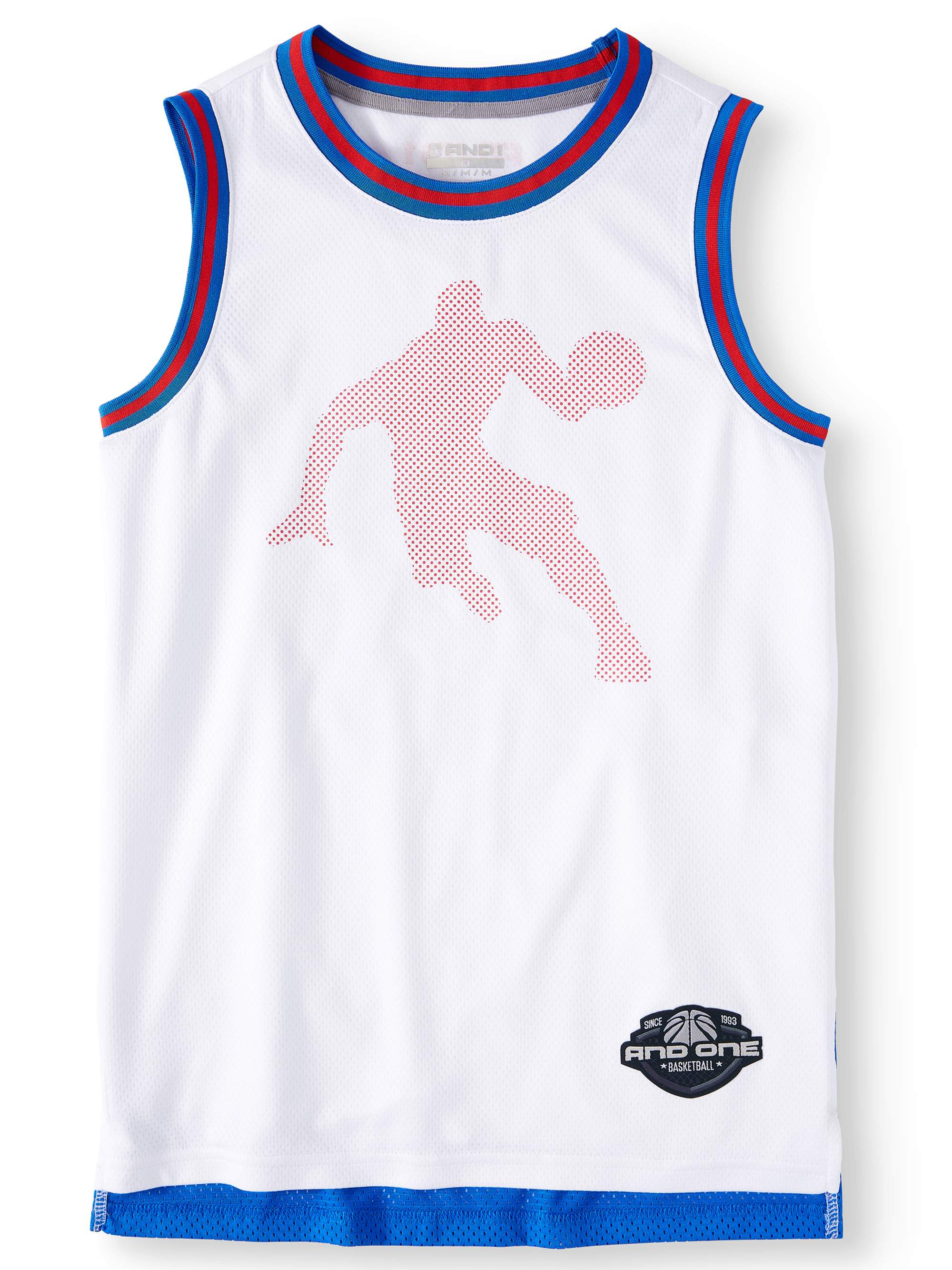Polyester Mesh Basketball Jersey (Little Boys & Big Boys)