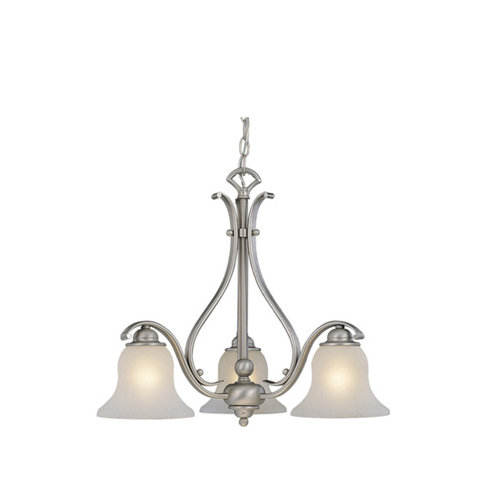 Monrovia Brushed Nickel 19.25 in. Chandelier