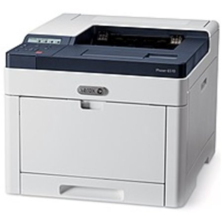 Refurbished Xerox Phaser 6510DN Color Laser Printer - 30 ppm (Simplex), 18 ppm (Duplex) - 1200 x 2400 dpi - 300 Sheet - USB 3.0, Ethernet - 120 V AC - White