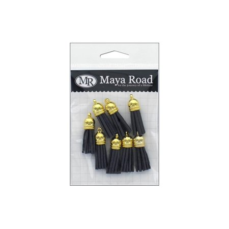 Maya Road Vintage Tassels Gold Cap Fog -