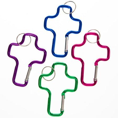 Cross Clip Keychains - Fun Keychains