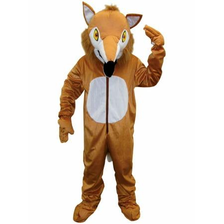 Unisex Adult Fox Mascot Costume