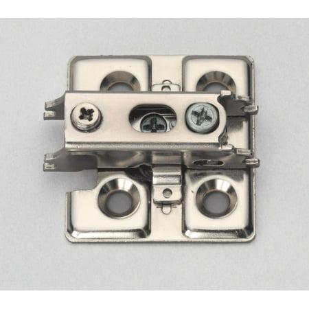 Sugatsune J95-P6T Nickel Mounting Plate For J95 Series Concealed European Hinges Mount Concealed Hinge