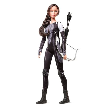 Barbie Collector The Hunger Games: Catching Fire Katniss Everdeen Doll - Discontinued by Manufacturer - Barbie And The Halloween Games