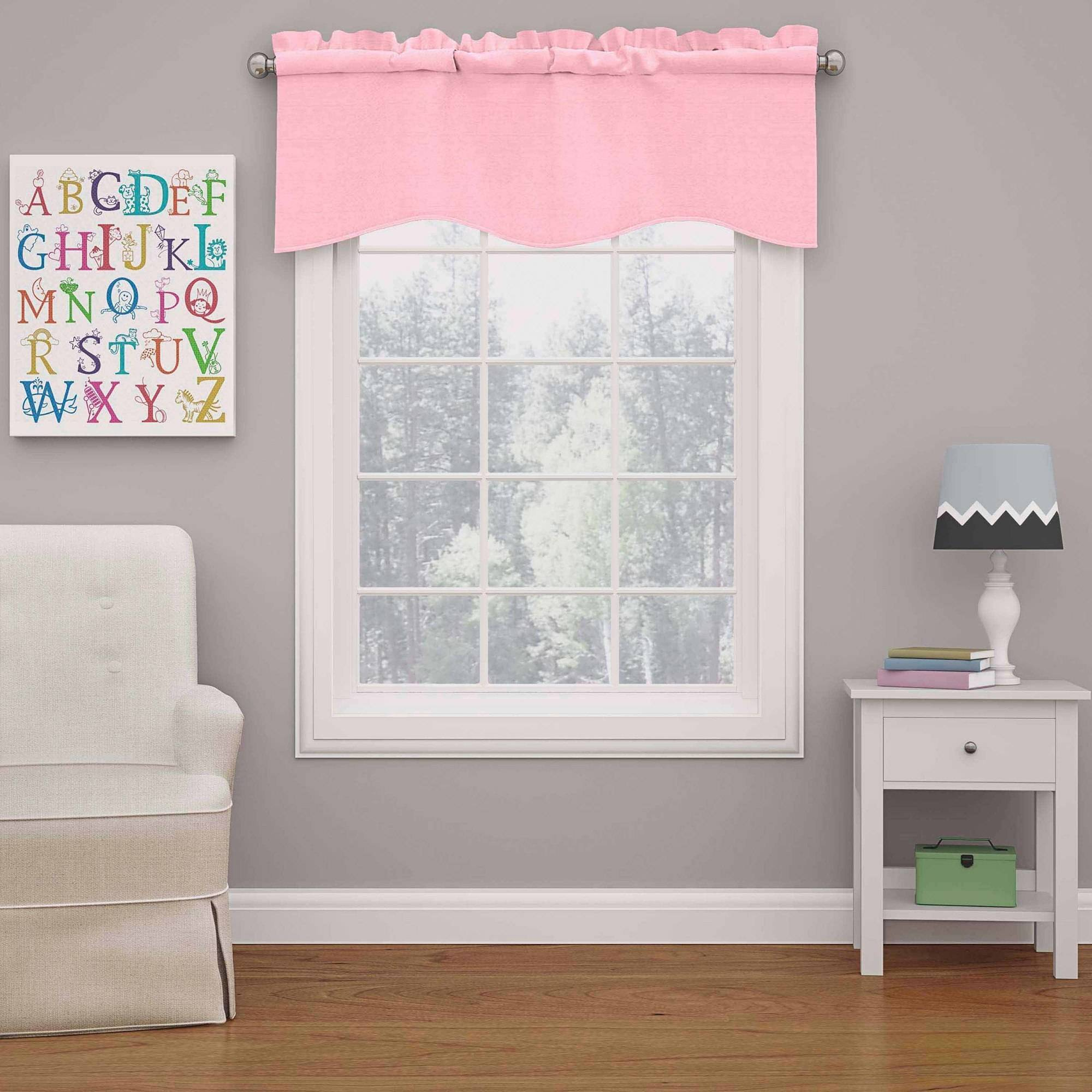Eclipse Kids Kendall Blackout Wave Curtain Valance