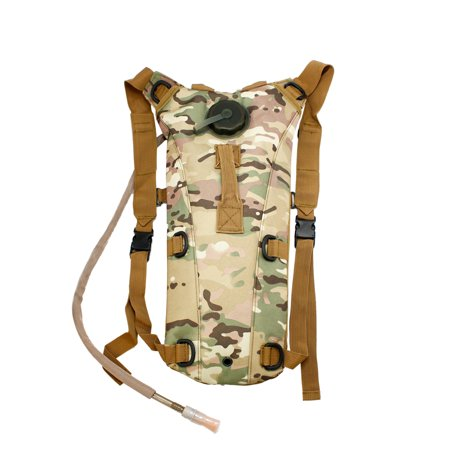 Compatible Hydration System (2L Hydration System Climbing Survival Hiking Pouch Backpack Bladder Water)