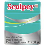 Sculpey Polymer Clay Teal Pearl