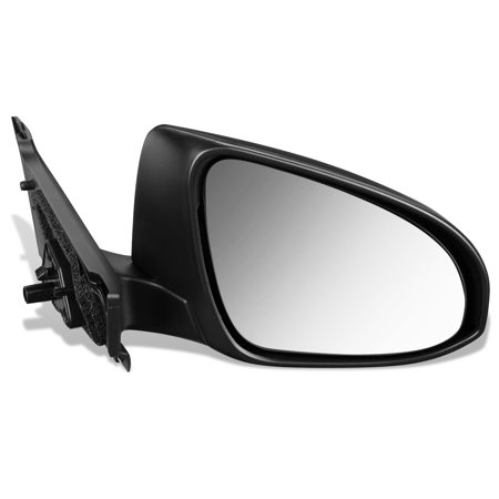 For 2015 to 2018 Toyota Yaris Hatchback OE Style Manual Passenger / Right Side View Door Mirror 879100D560-PFM 16 17 Black Passenger Side View Mirror