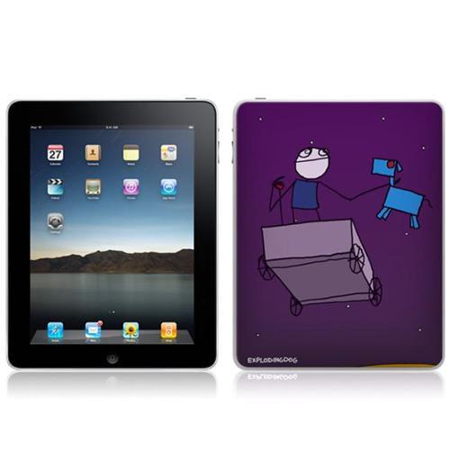 Zing Revolution MS-EXDG30051 iPad- Wi-Fi-Wi-Fi + 3G- EXPLODINGDOG- I Might Be Lost Skin