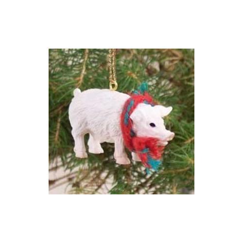 Pink Pig Christmas Ornament PI91 - Walmart.com