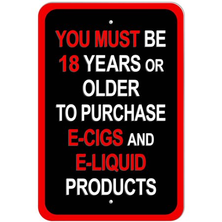 You Must Be 18 Years or Older to Purchase E Cigs and E Liquid Products (Best Disposable E Cig In Stores)