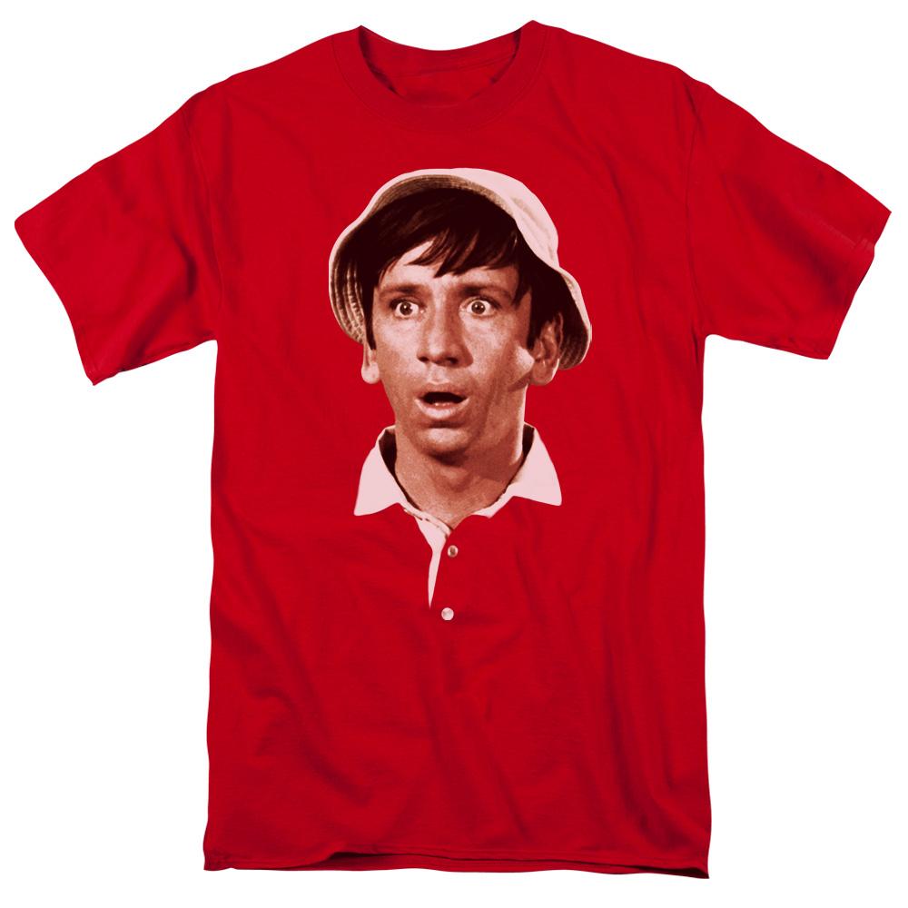Gilligans Island Gilligans Head Mens Short Sleeve Shirt