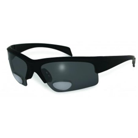 Polarized Bifocal Sunglasses With 2- 3.0 Gray Lens (Awesome Sunglasses)