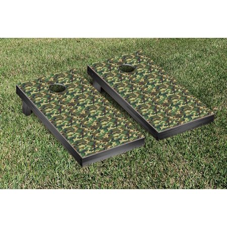 Victory Tailgate Woodland Camouflage Tailgate Size Cornhole Game Set