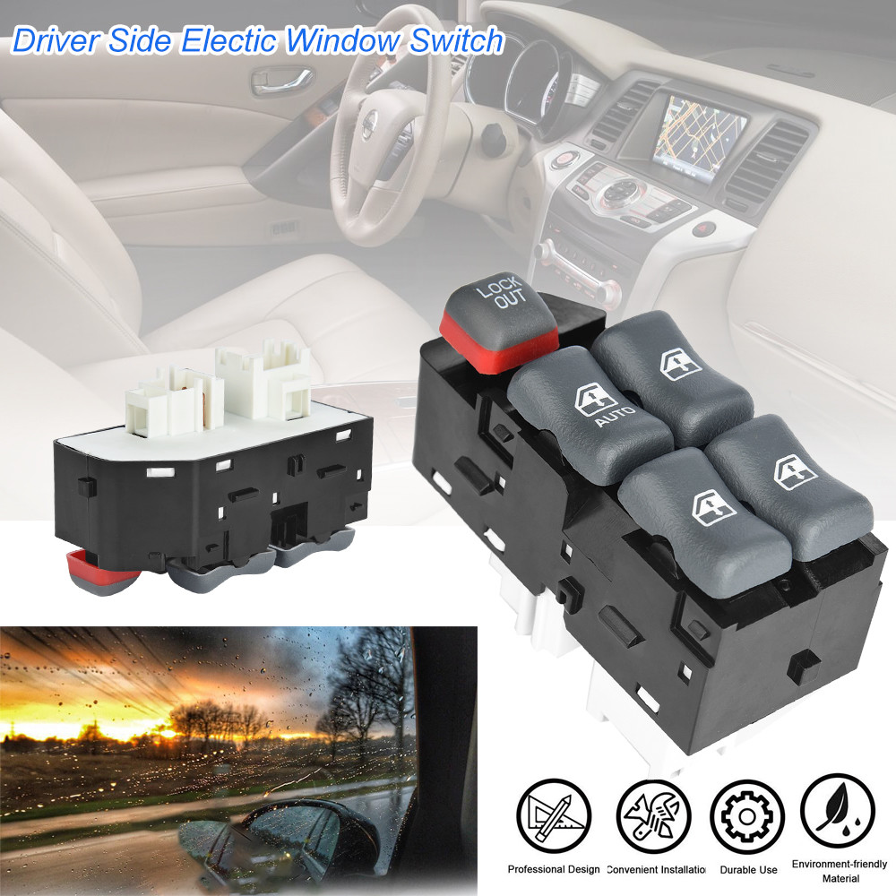 New Power Master Window Switch Driver Side Fit 2000-2005 Chevrolet Cavalier 4DR