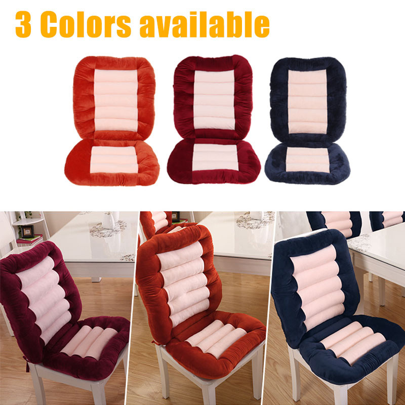 38x19x3inch Cushion Set Antiskid Seat Pads Dining Chair Foldable Garden Patio Office Soft Back Pads Walmart Canada