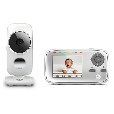 Motorola (MB483) MB483, Video Baby Monitor, Two-Way Talk