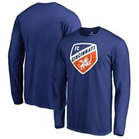 FC Cincinnati Fanatics Branded Primary Logo Long Sleeve T-Shirt - Royal
