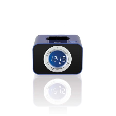 ilive icp211bu digital clock with fm radio alarm and ipod. Black Bedroom Furniture Sets. Home Design Ideas