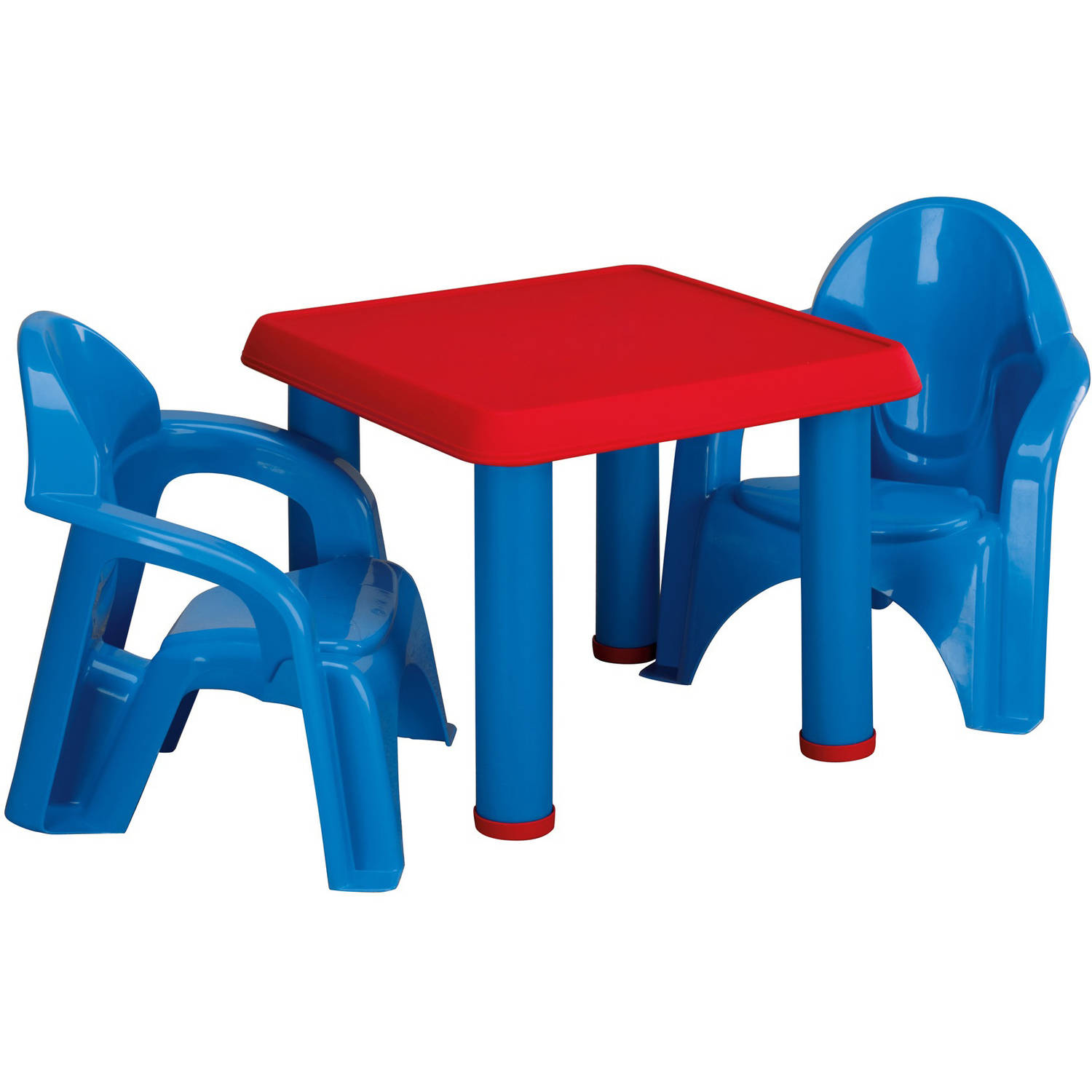 American Plastic Toys Table and Chairs