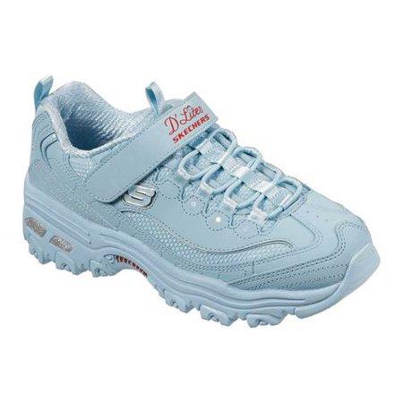Skechers D' Lites Color Kicks Casual Sneaker (Little Girls & Big Girls)