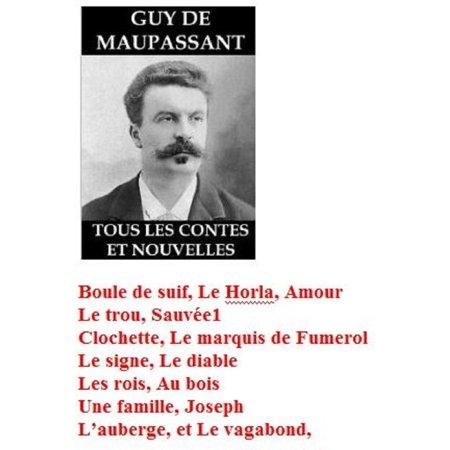 15 nouvelles illustrées de Guy de Maupassant -