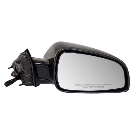 BROCK Power Side View Mirror Heated Passenger Replacement for 07-10 Saturn Aura & 08-12 Chevrolet Malibu 25853523 GM1321319 ()