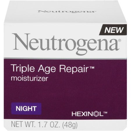 Neutrogena Triple Age Repair Night Moisturizer, 1.7 oz (Pack of 2)