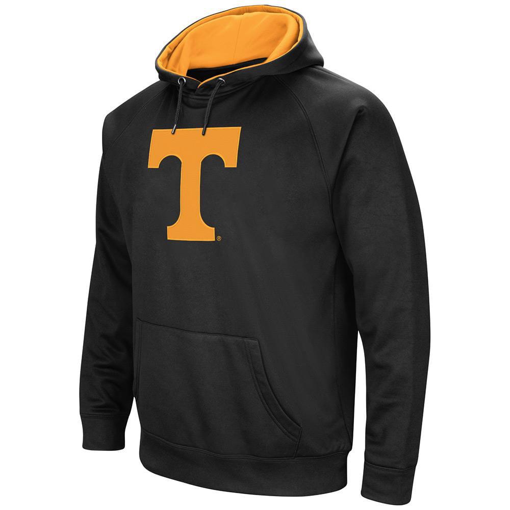 Mens NCAA Tennessee Volunteers Black Pull-over Hoodie by Colosseum