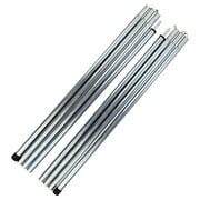 Tomshoo Outdoor Tent Canopy Tarp Poles Tent Canopy Support Rods Iron Canopy Awning Frame