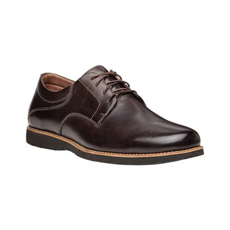 Propet Men's Grisham Plain Toe Derby (Mens 8 Plain Toe Wedge)