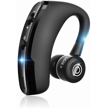 Black Friday Bluetooth Headset, Wireless Earpiece V5.0 Ultralight Hands Free Business Earphone with Mic for Business/Office/Driving