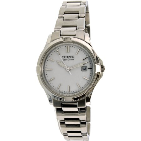 77a0cbe2dcdd65 CITIZEN - Women's Eco-Drive Silhouette Sport EW1960-59A Silver  Stainless-Steel Eco-Drive Fashion Watch - Walmart.com