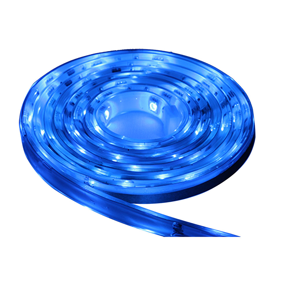 LUNASEA BLUE FLEXIBLE STRIP LED 12V 5M W/CONNECTOR