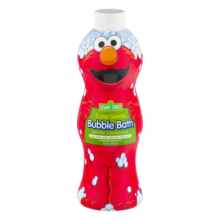 Sesame Street Extra Gentle Bubble Bath, Fragrance and Dye Free, 24 Oz - Champagne Bubble Bath
