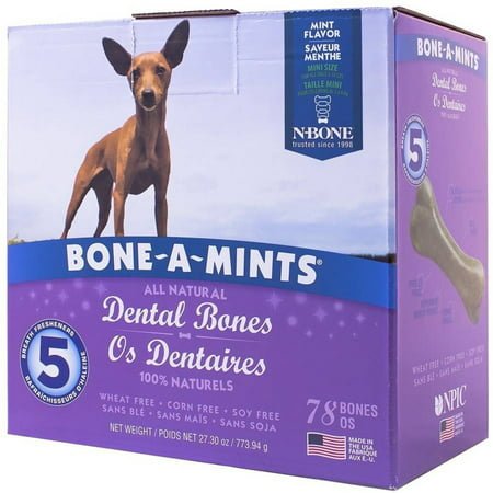 Bone-A-Mints Dental Bones, Mini, (Bone Cool Mint)
