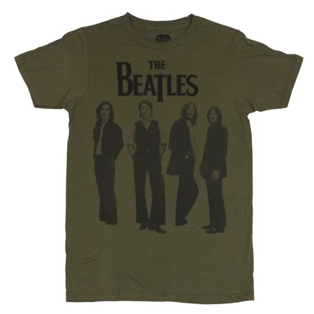 The Beatles  Mens T-Shirt - Suited Late 60s Style Standing Photo](60s Mens Clothes)