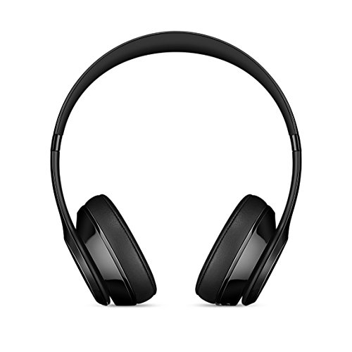 Refurbished Apple Beats Solo3 Gloss Black On Ear Headphones MNEN2LL/A