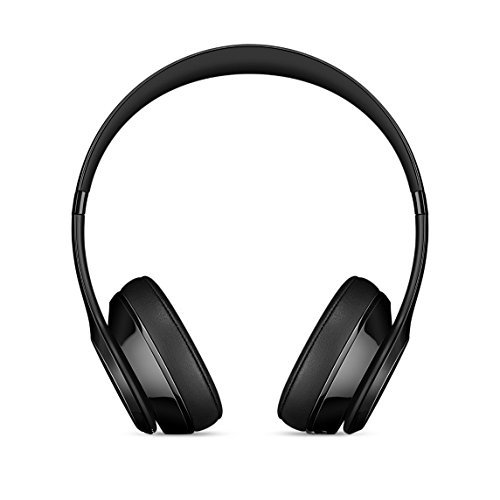 Refurbished Apple Beats Solo3 Gloss Black On Ear Headphones Mnen2ll A Walmart Com Walmart Com