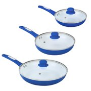 Best Ceramic Pans - FGY 6 Pcs Nonstick Frying Pan Set Ceramic Review
