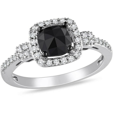 ... Round-Cut B... 1 Carat Cushion Cut Halo Engagement Ring