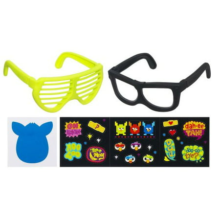 Furby Frames Accessory [Yellow & Black]