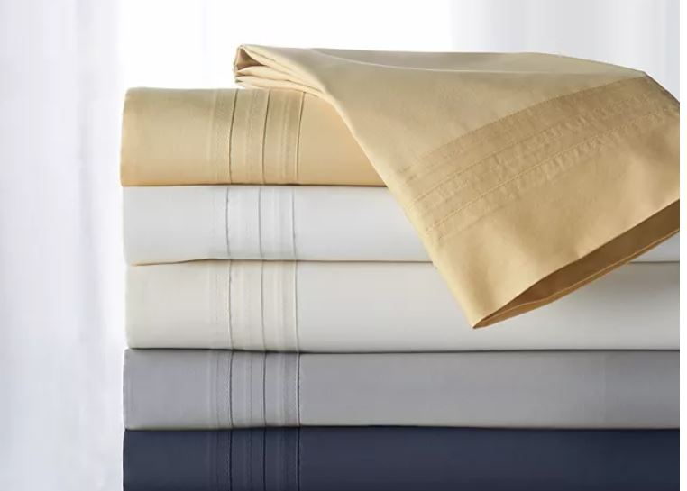 Donna Karan Gold King Flat Sheet, Donna Karan Home Reflection Gold Dust Bedding Collection